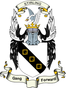First Arms of the Stirlings of Cadder